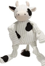 Hugglehounds HH Knottie Cow Toy Dog Wee