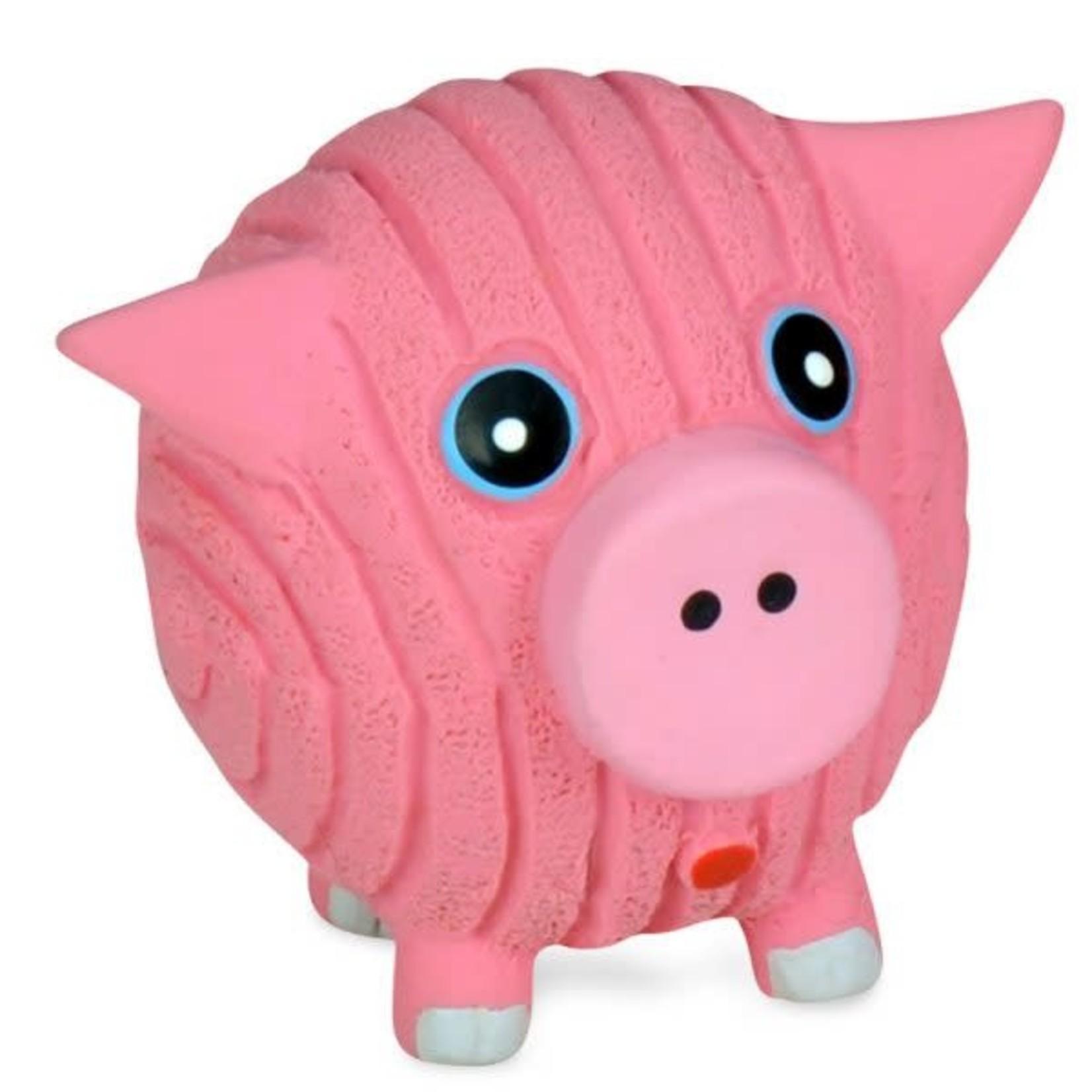 Hugglehounds HH Ruff-Tex Hamlet the Pig Toy Dog Lrg