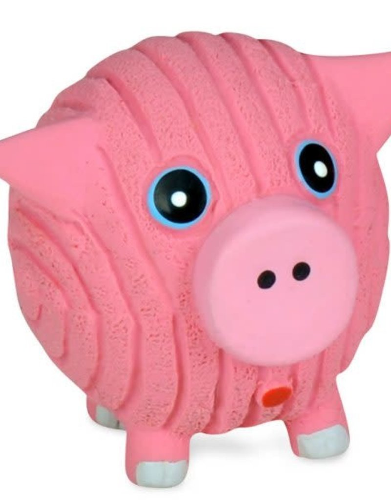 Hugglehounds HH Ruff-Tex Hamlet the Pig Toy Dog Sm