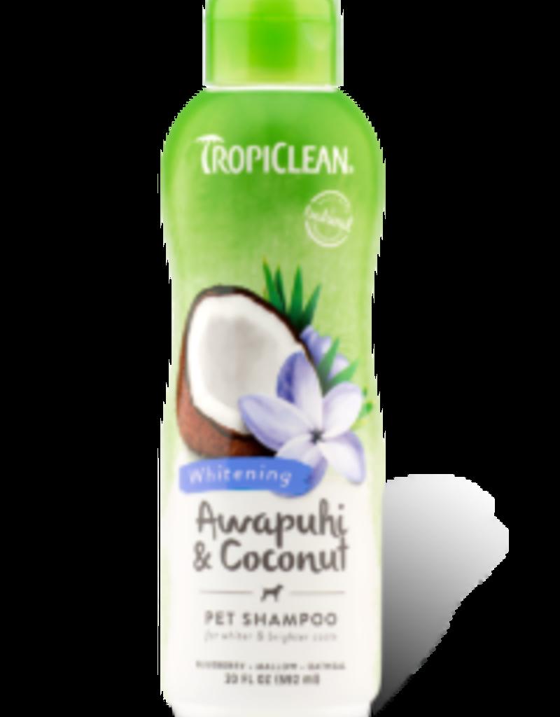 Tropiclean TROPICLEAN Coconut Shampoo White Coat 20oz