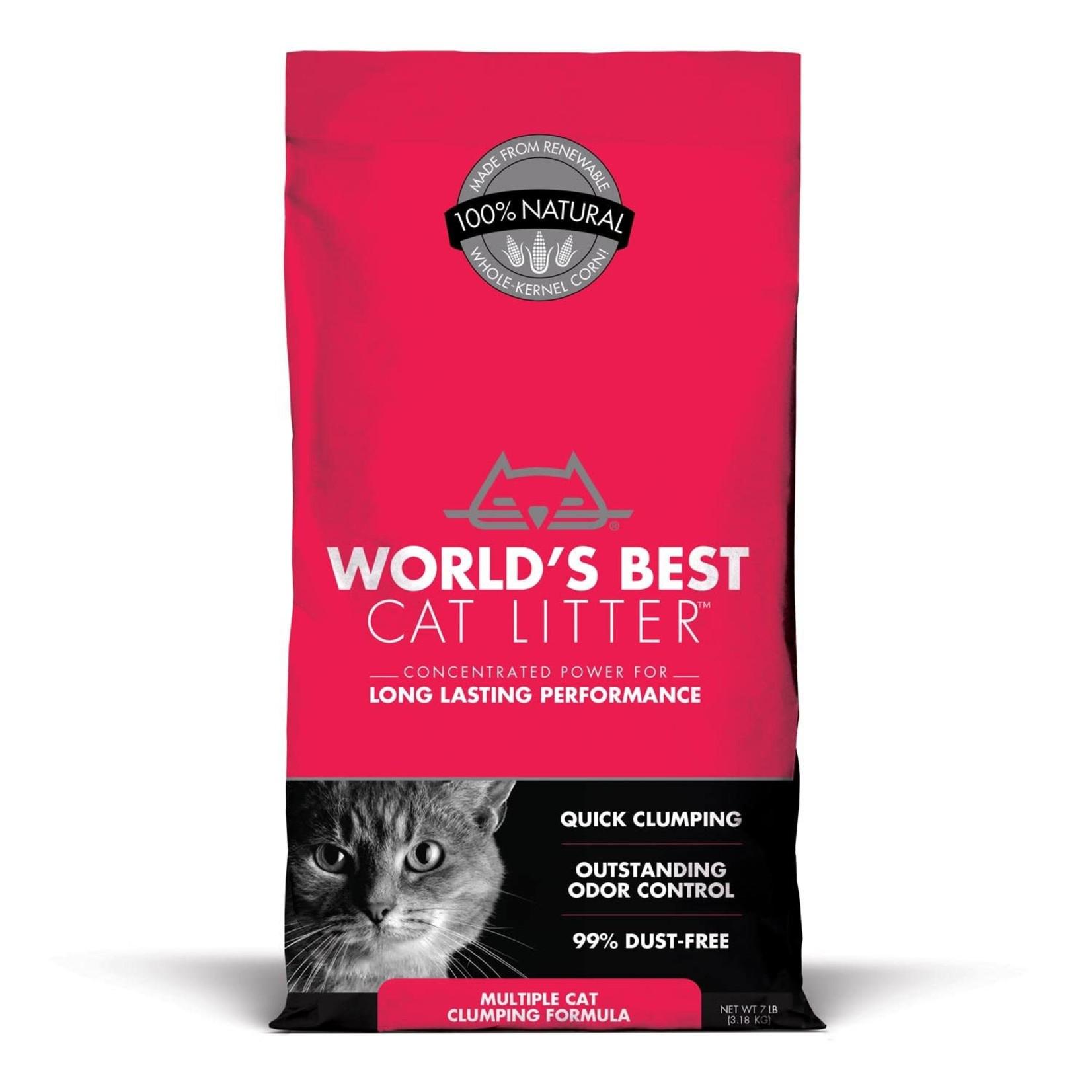 World's Best Cat Litter WB Litter Multi Cat Clumping
