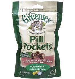Greenies/Pill Pockets PILLPOCKET Salmon Cat 1.6oz
