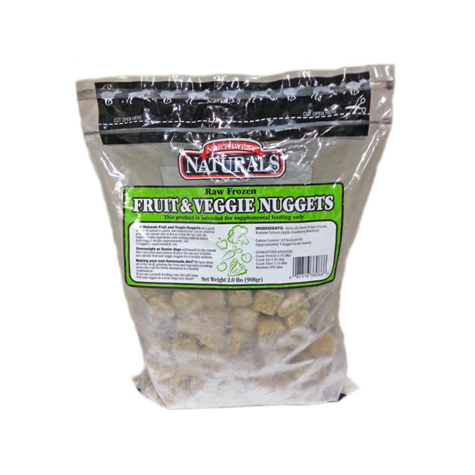 Northwest Naturals Northwest Naturals  Frozen Raw Fruit & Veggie Nuggets Dog 2#