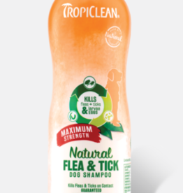 Tropiclean TropiClean Natural Flea & Tick Dog Shampoo Max 20oz