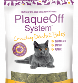 Swedencare PlaqueOff System™ Crunchy Dental Bites Cat 3oz
