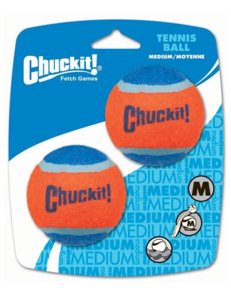 Chuck It CHUCK-IT Tennis Ball Dog Med 2pk