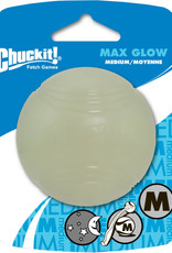 Chuck It CHUCK-IT Max Glow Ball Dog Med