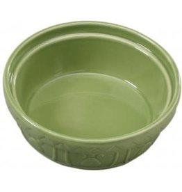 "Ethical Products ETHICAL Old World Dog Dish Sage 7"""