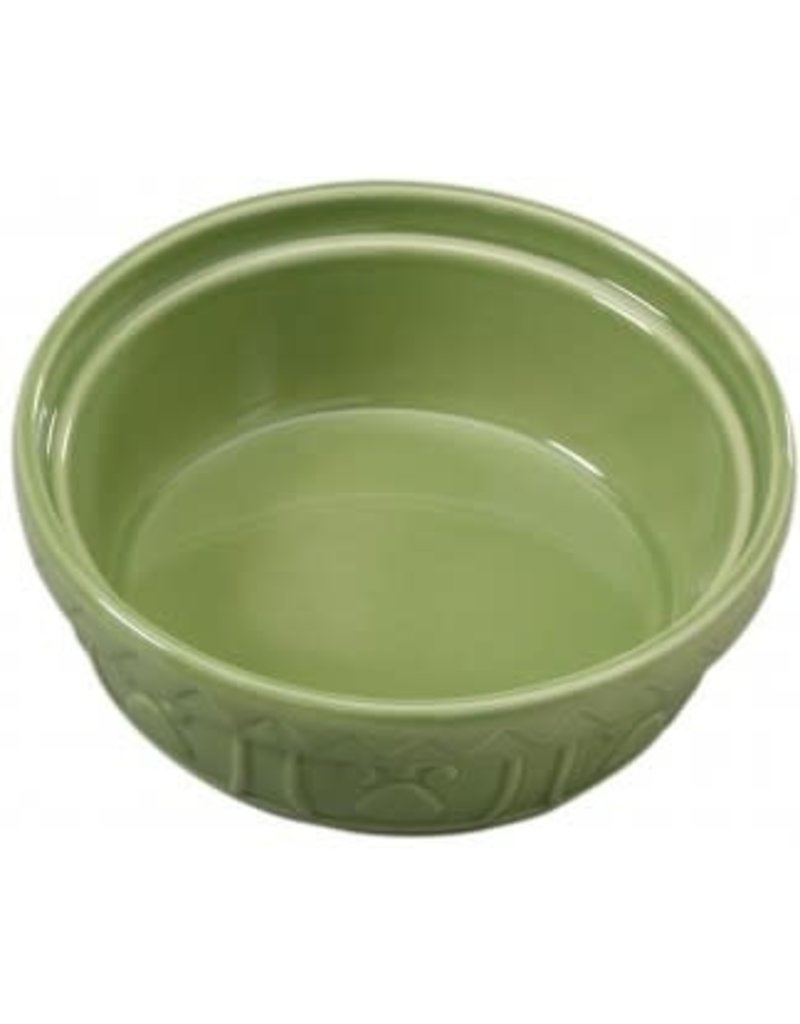 Ethical Products ETHICAL Old World Dog Dish Sage 7""