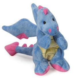 Worldwise/QPG/GoDog GoDog Periwinkle Dragon Dog Toy Large