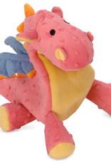 Worldwise/QPG/GoDog GoDog Coral Dragon Dog Toy Large