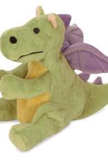 Worldwise/QPG/GoDog GoDog Lime Dragon Dog Toy Small