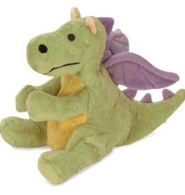 Worldwise/QPG/GoDog GODOG Dragon Lime Toy Dog Sm