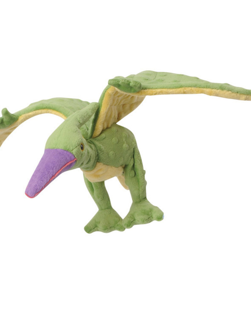 Worldwise/QPG/GoDog GoDog Green Pterodactyl Dog Toy Small