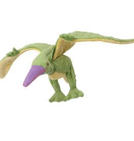 Worldwise/QPG/GoDog GODOG Dino Pterodactyl Green Toy Dog Lrg