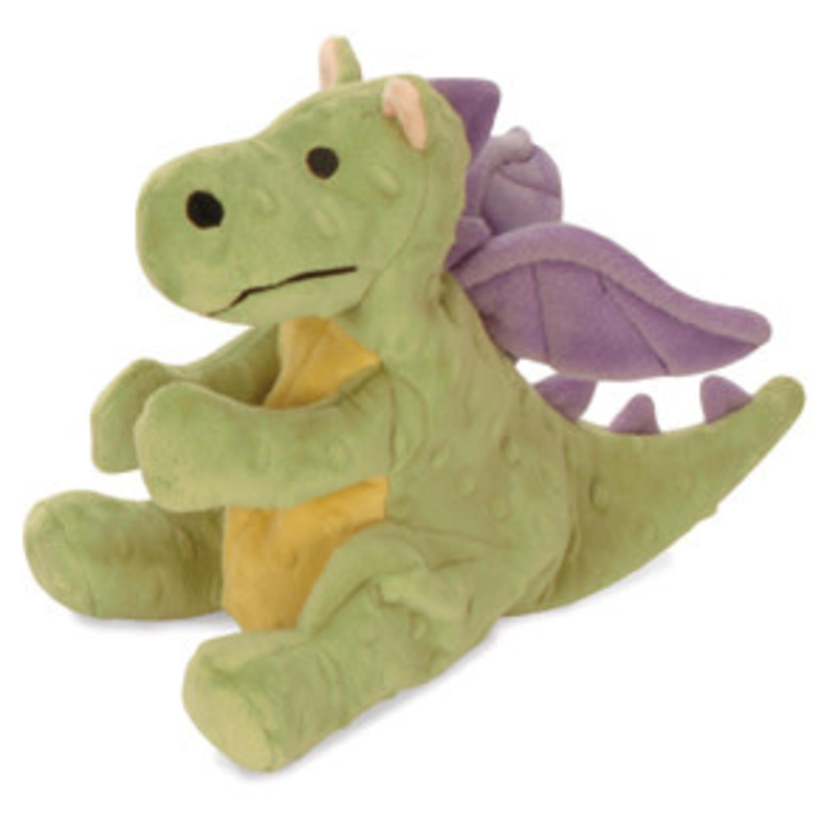 Worldwise/QPG/GoDog GoDog Lime Dragon Dog Toy Large