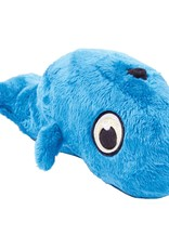 Worldwise/QPG/GoDog GoDog Hear Doggy Whale Dog Toy Large