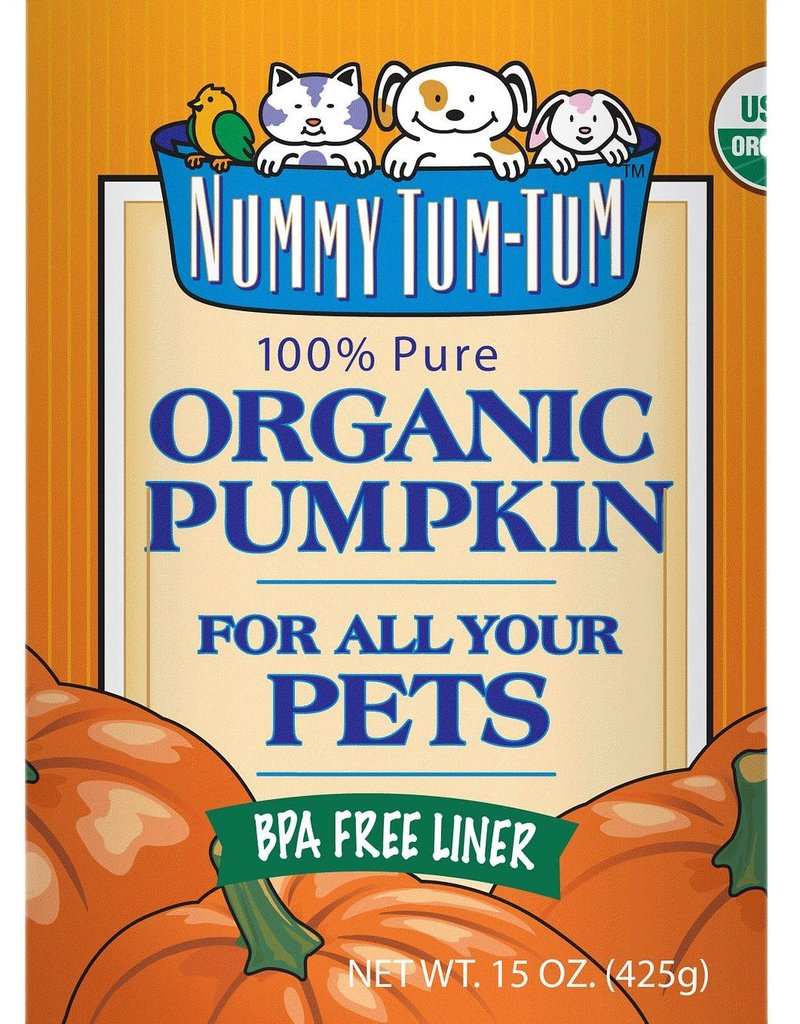 Nummy Tum Tum NUMMY Organic Pumpkin Puree Can 15oz