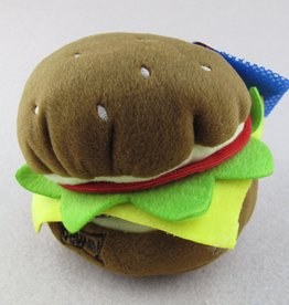 Lulubelles LULUBELLES Power Plush Hamburger Dog Lrg