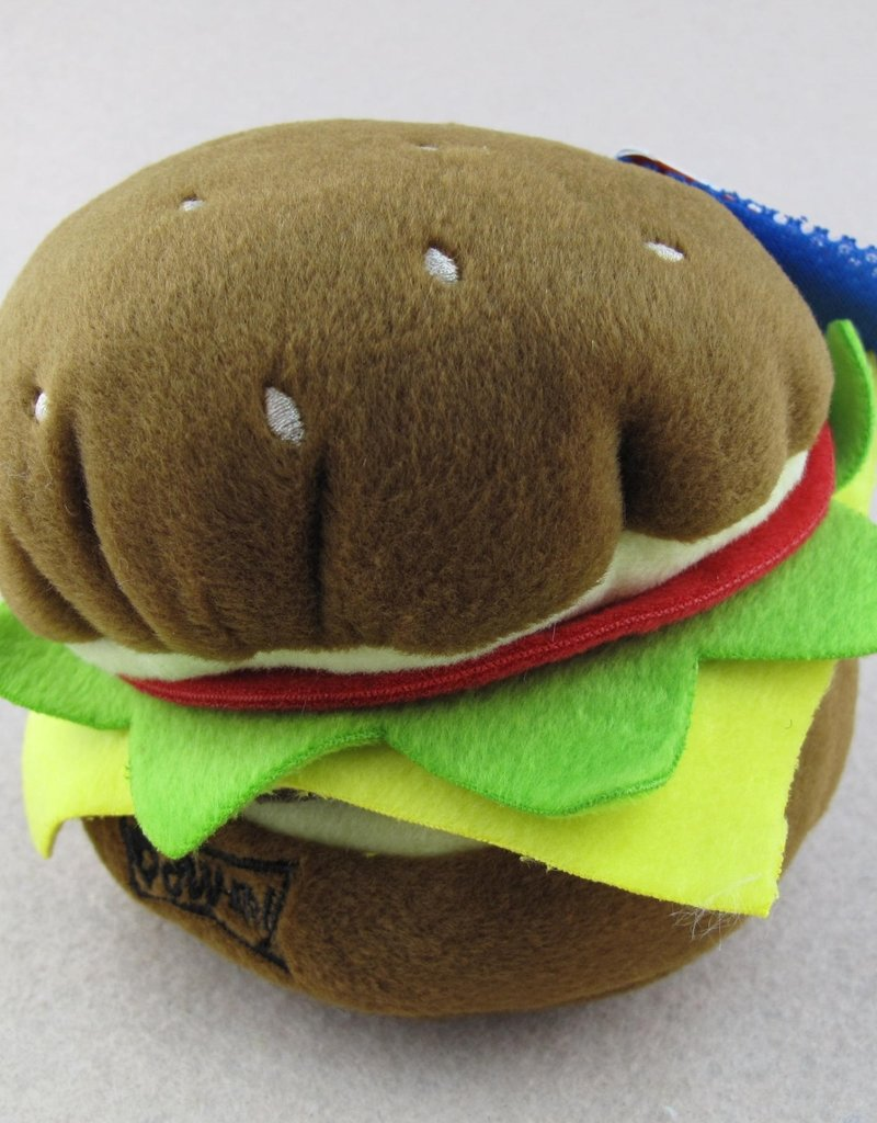 Lulubelles LULUBELLES Power Plush Hamburger Dog Lrg