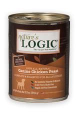 Nature's Logic Nature's Logic Canine Chicken Feast Dog Food Can 13.2oz