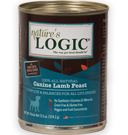 Nature's Logic NL Canine Lamb Feast Can Dog 13.2oz