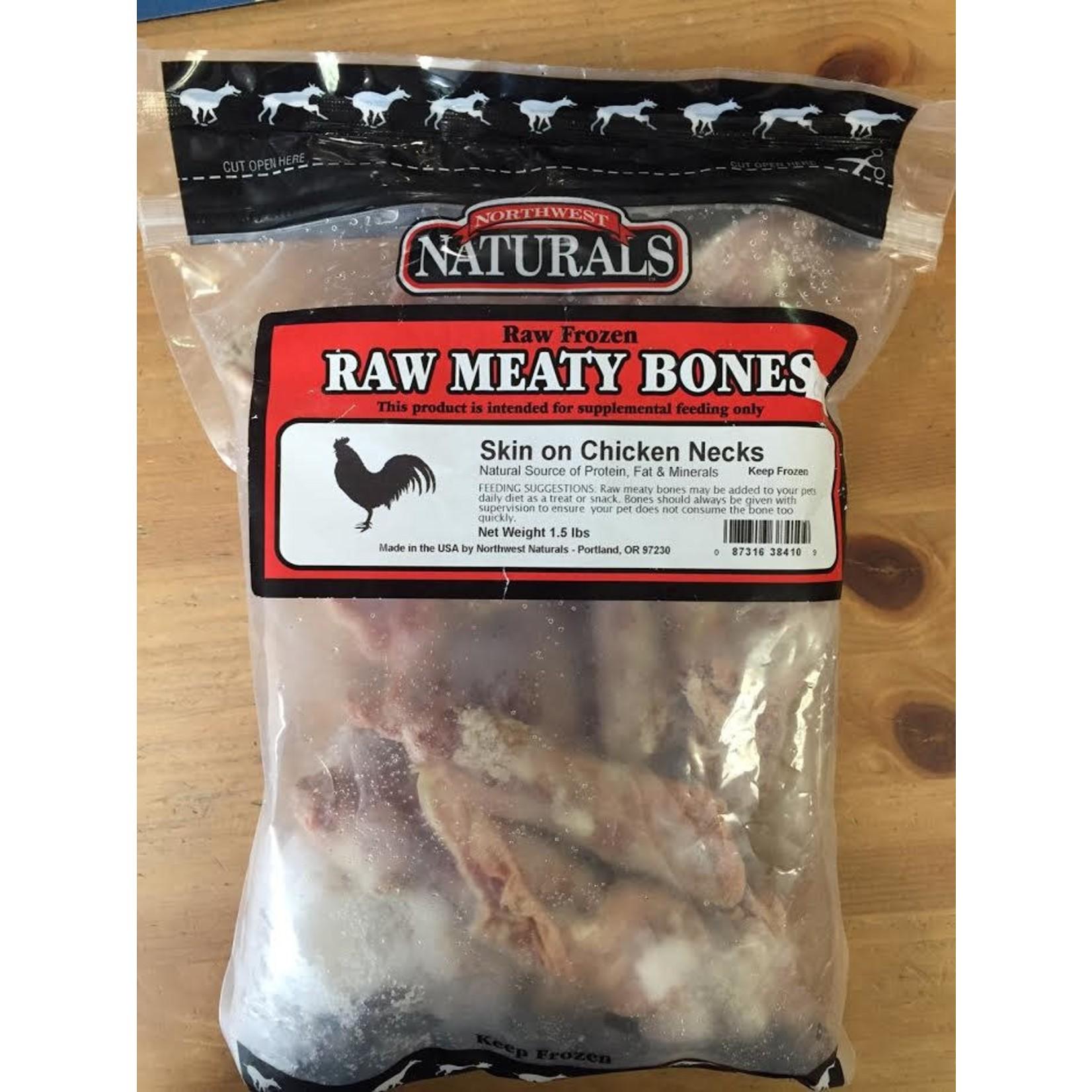 Northwest Naturals Northwest Naturals Frozen Raw Bones Chicken Necks 10ct