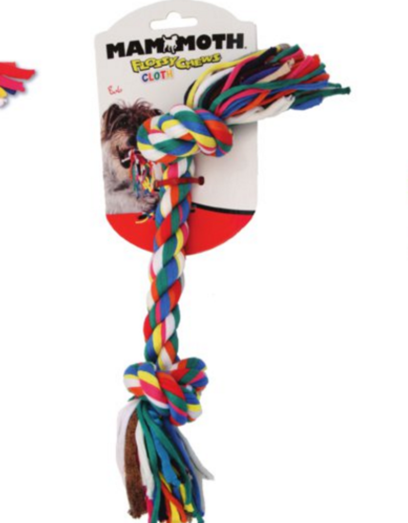 "Mammoth MAMMOTH Cloth Rope Toy 14"""