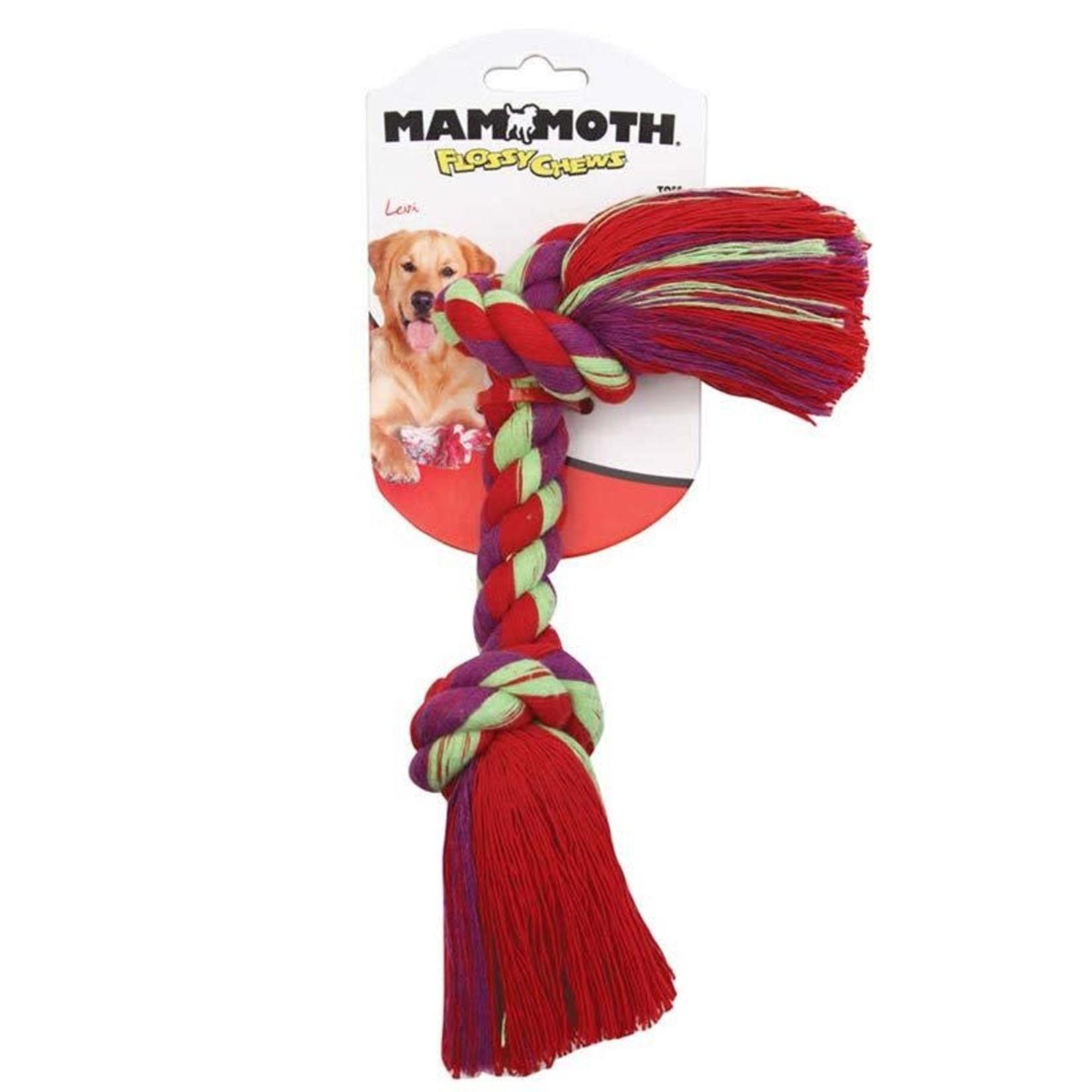 "Mammoth MAMMOTH Rope Bone Sm 9"" Dog"