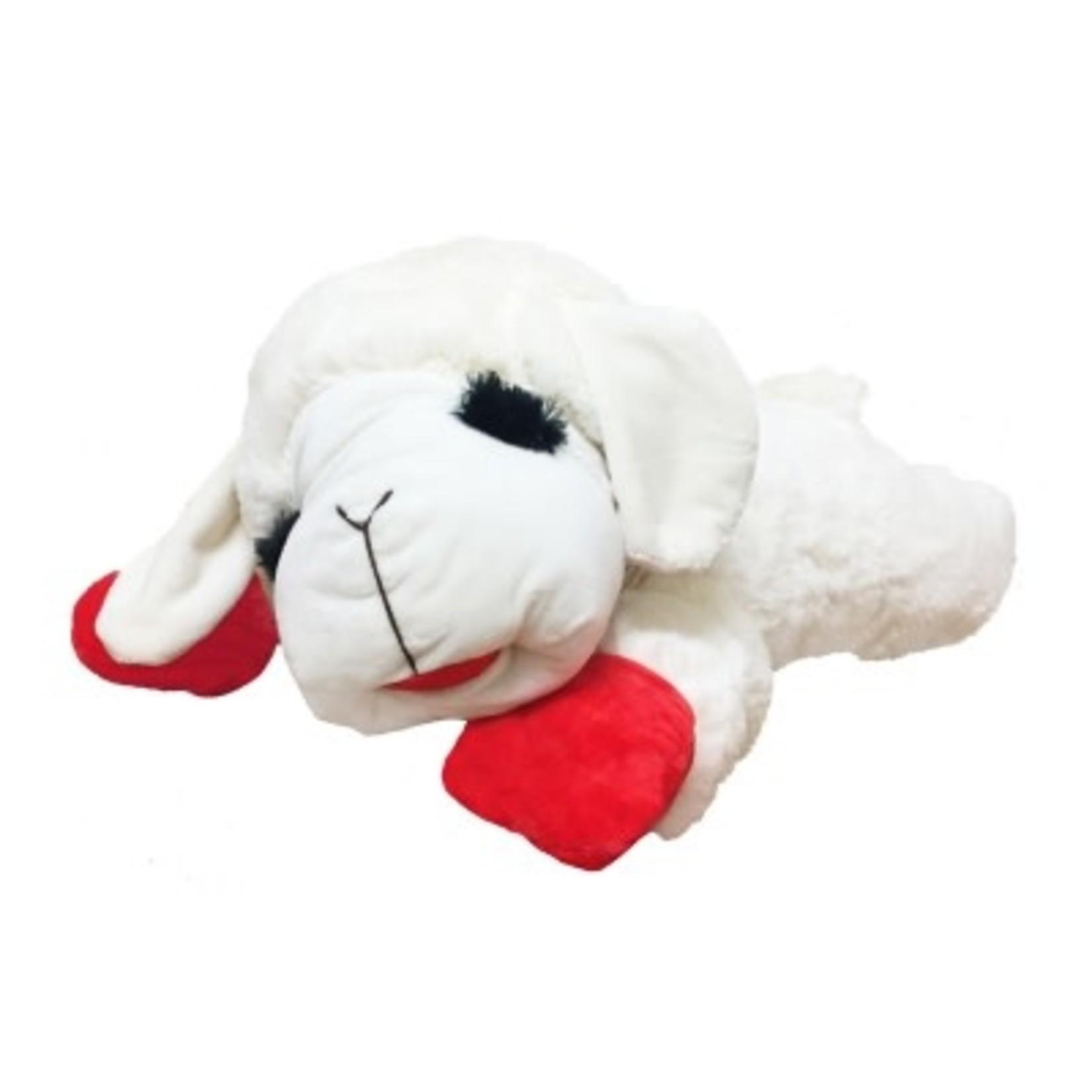 "MultiPet Multipet Lamb Chop Dog Toy 6"""