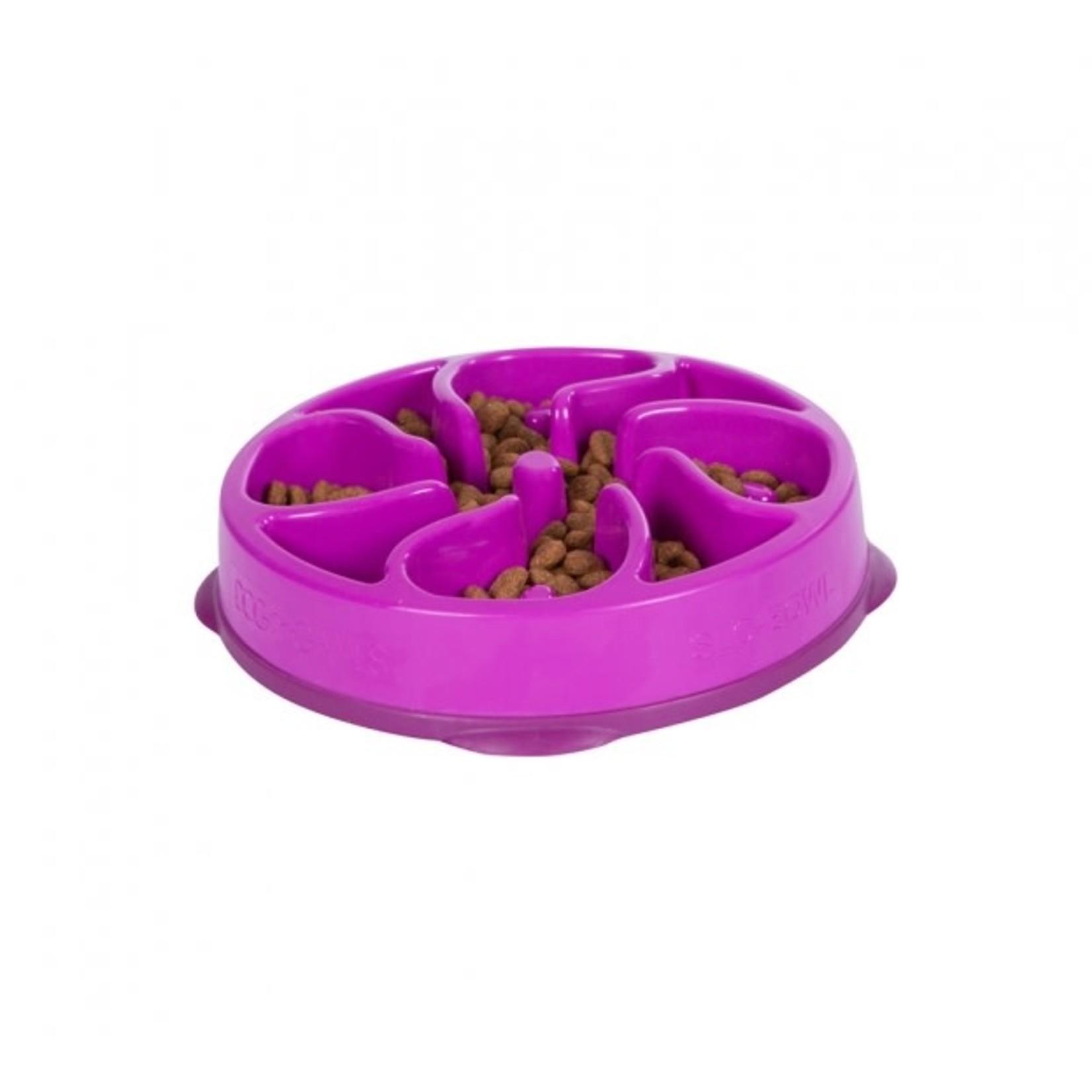 Outward Hound Outward Hound Fun Feeder Mini Purple