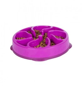 Outward Hound Outward Hound Fun Feeder Mini Purple