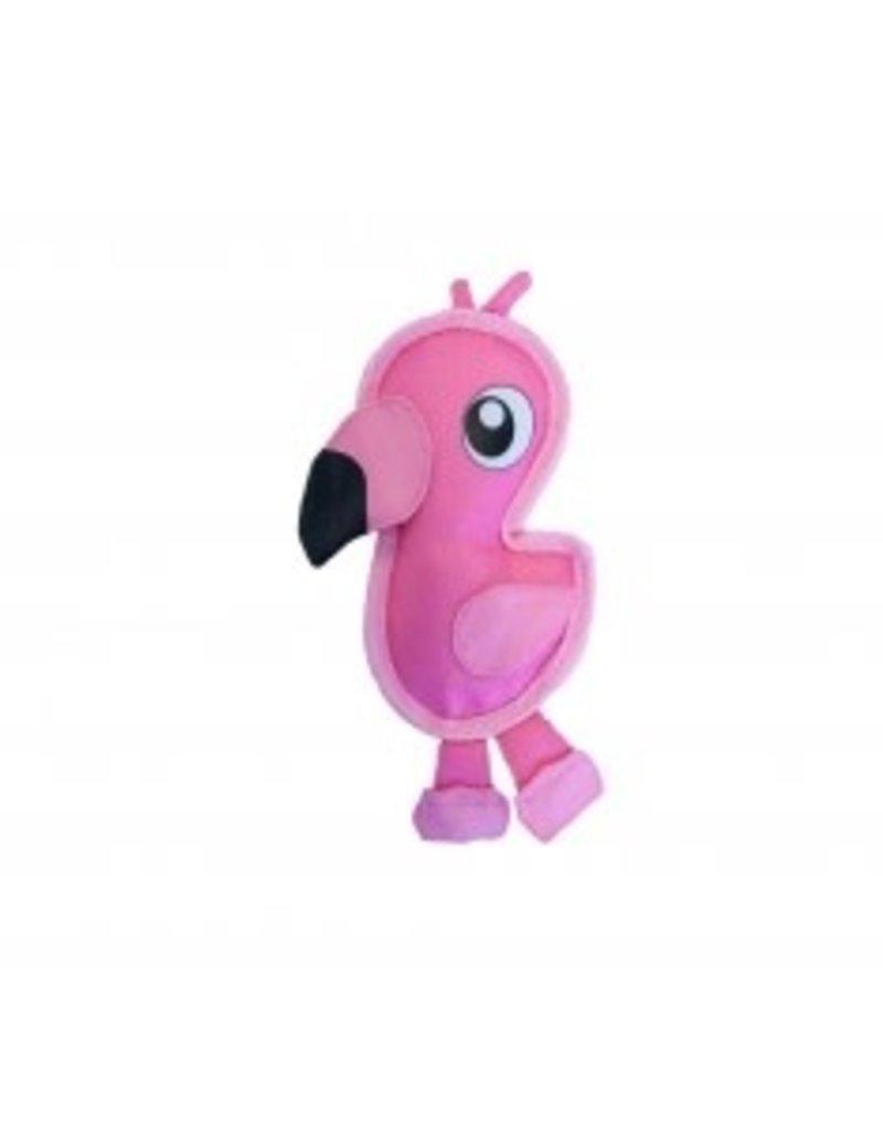 Outward Hound Outward Hound Fire Biterz Flamingo Dog Toy Small