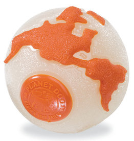 Planet Dog PLANETDOG Orbee Glow Ball Dog Orange MD