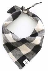 The Foggy Dog FOGGYDOG Bandana B&W Flannel
