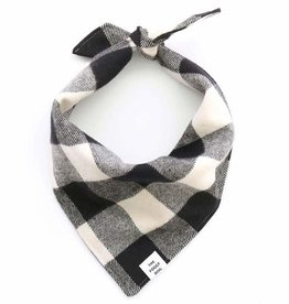 The Foggy Dog FOGGYDOG Bandana B&W Flannel
