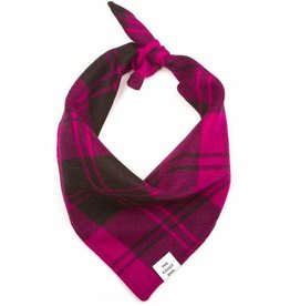The Foggy Dog FOGGYDOG Bandana Fuchsia Plaid