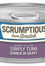 Scrumptious SCRUMPTIOUS Simply Tuna Cat Can 2.8oz