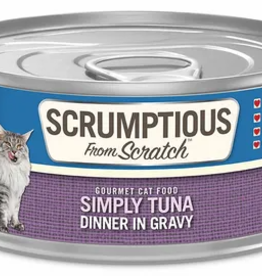 Scrumptious SCRUMPTIOUS Simply Tuna Cat Can 2.8oz