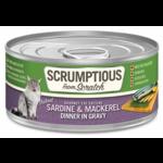 Scrumptious SCRUMPTIOUS Sardine & Mackerel Cat Can 2.8oz