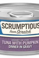 Scrumptious SCRUMPTIOUS Tuna with Pumpkin Cat Can 2.8oz