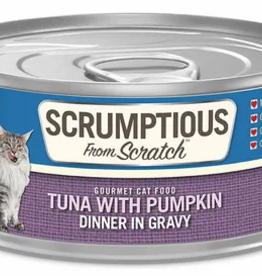Scrumptious SCRUMPTIOUS Tuna with Pumpkin Cat Can 2.8oz
