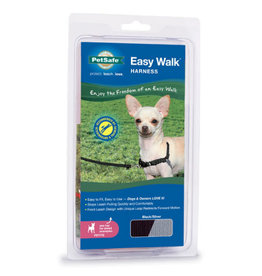 Petsafe PETSAFE Harness Easy Walk Petite Black & Silver