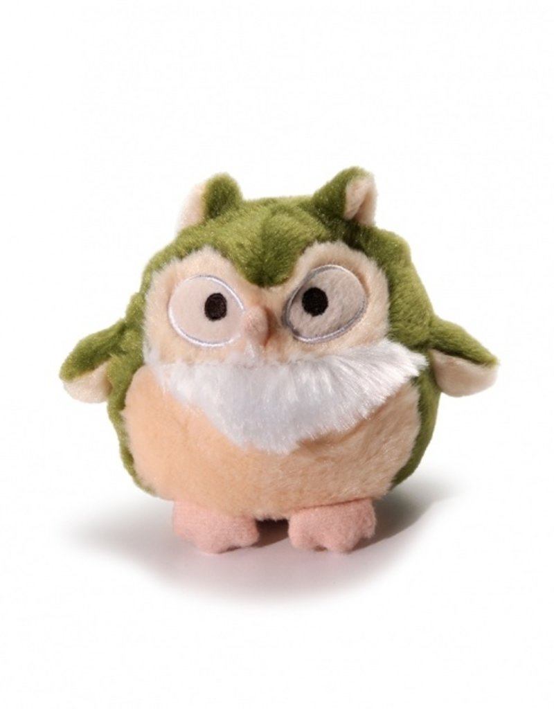 Charming Pet CHARMING Hoots Dog Toy Green