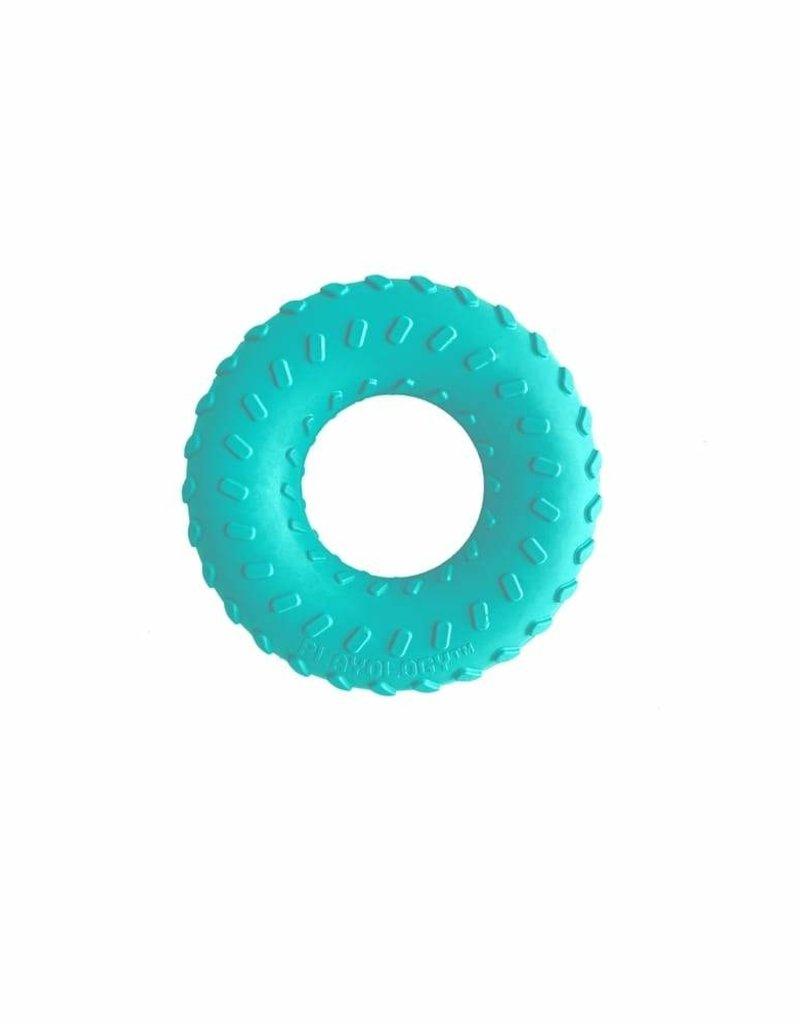 Playology PLAYOLOGY Dual Layer Ring PB Dog Toy