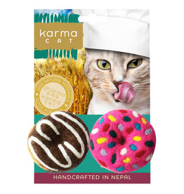 Dharma Dog DHARMA DOG Donuts Cat Toy 2pk