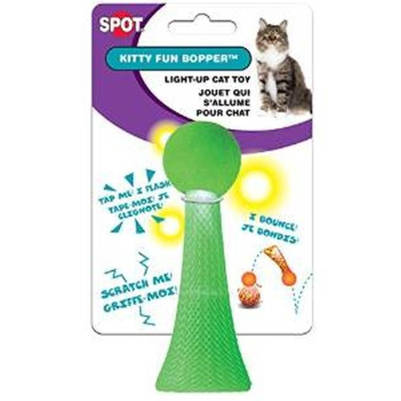 Ethical Products ETHICAL Kitty Fun Boppers Assorted Toy Cat