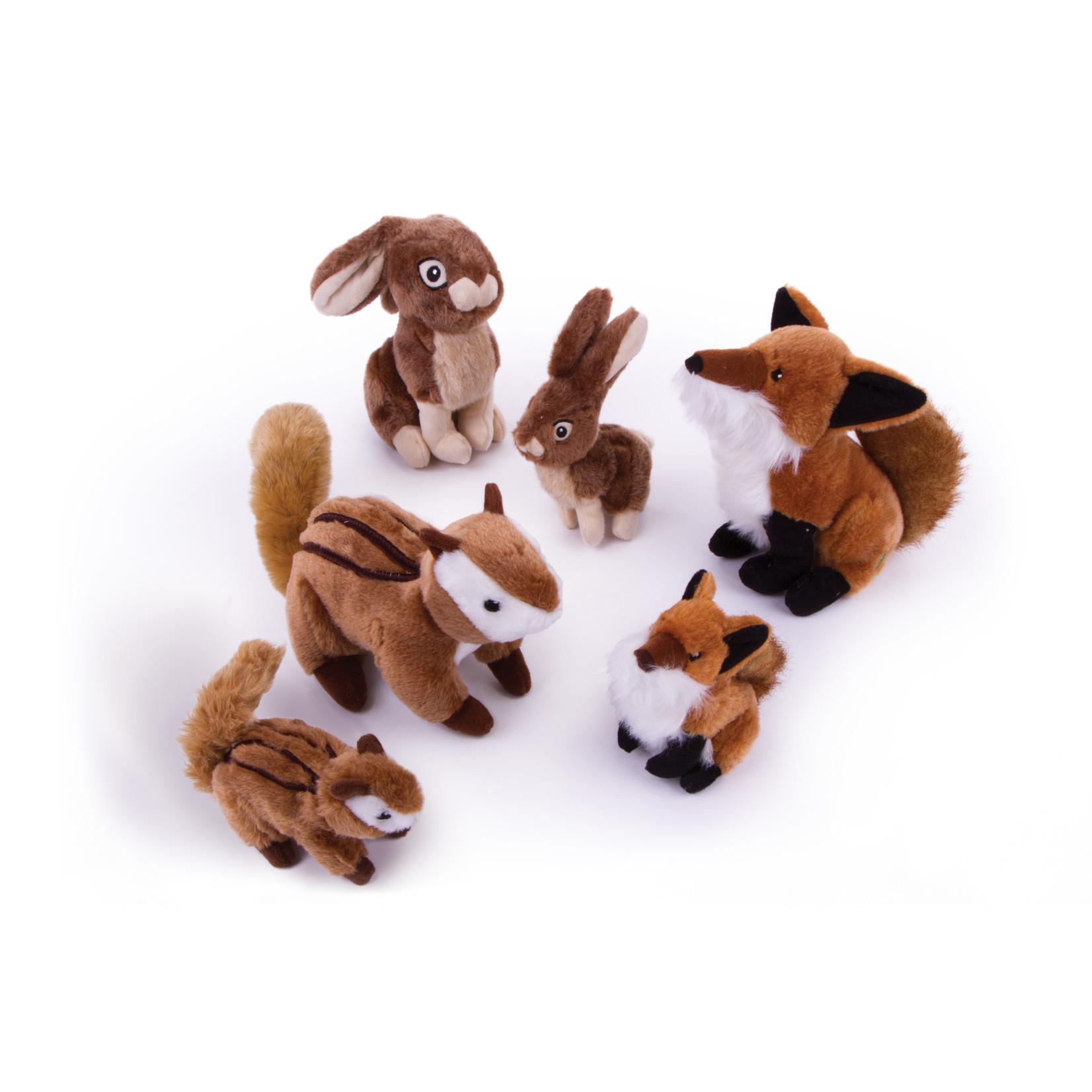 Worldwise/QPG/GoDog GODOG Wildlife Chipmunk SM Dog Toy