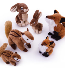 Worldwise/QPG/GoDog GoDog Chipmunk Wildlife Dog Toy Small
