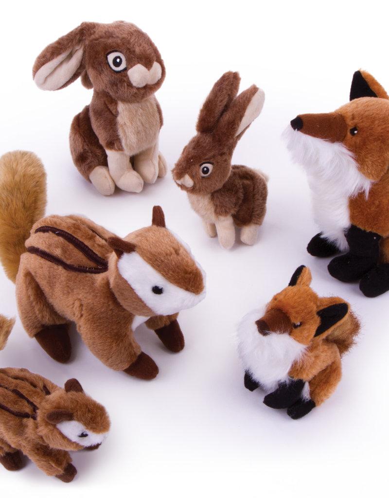 Worldwise/QPG/GoDog GoDog Chipmunk Wildlife Dog Toy Large